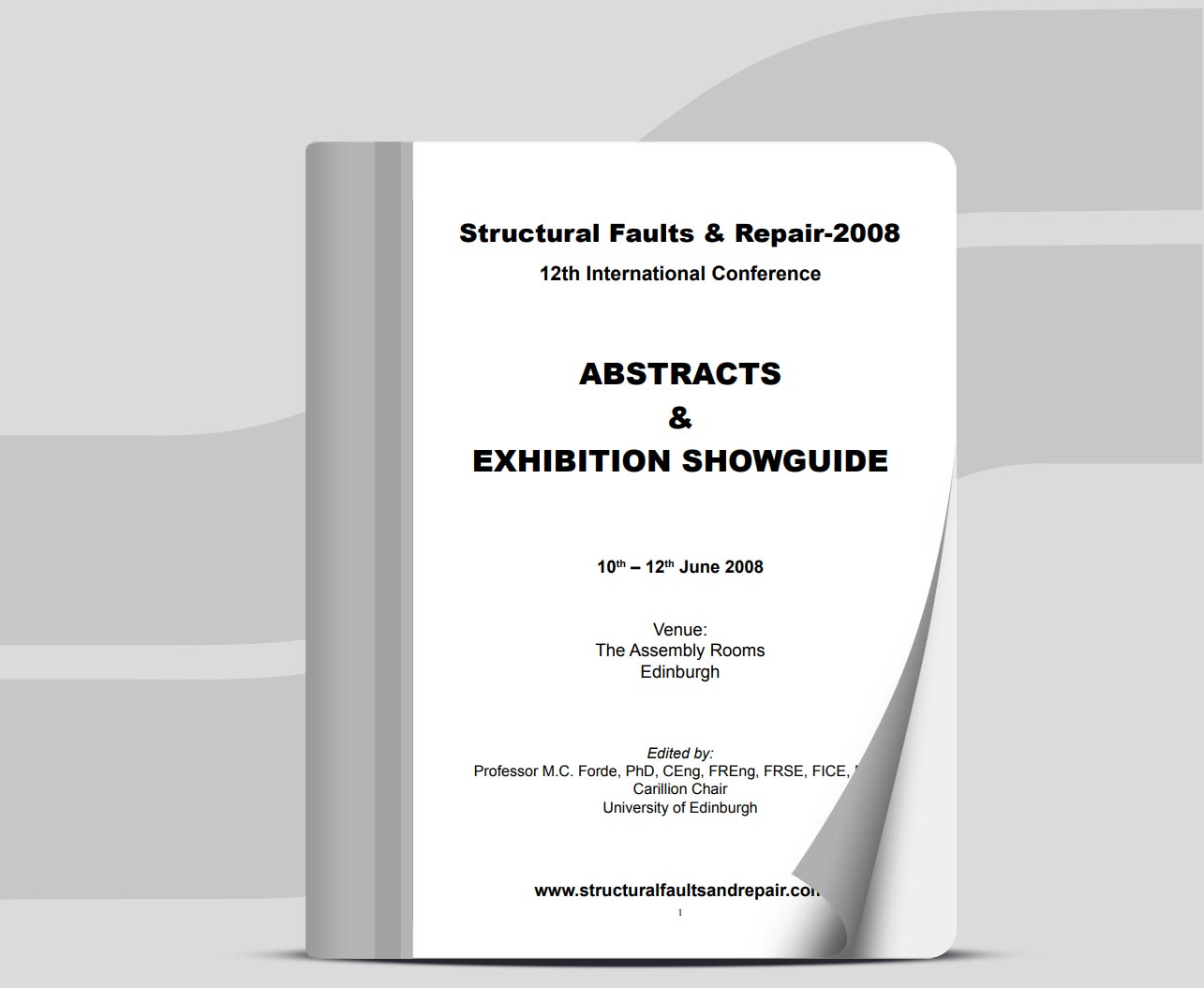 Structural Faults & Repair-2008 - 12th International Conference, Sineco
